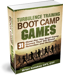 TTBCG Manual Workout Finisher and Bootcamp Games Plan